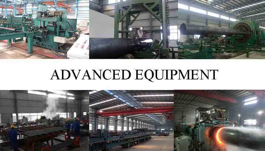 Advance Equipment Of ASTM A53 Seamless Steel Pipe manufacturer