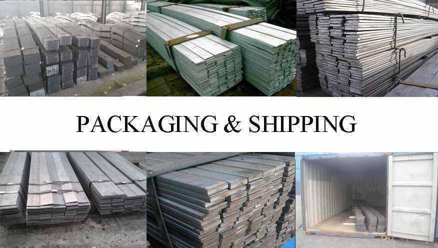 Packaging & Shipping of Flat Bar supplier in Vietnam