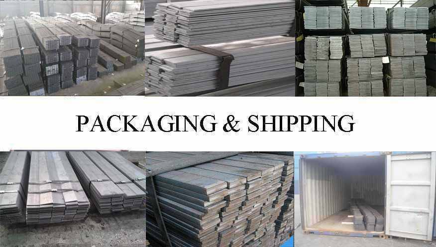 Packaging & Shipping of Flar Bar supplier in Thailand
