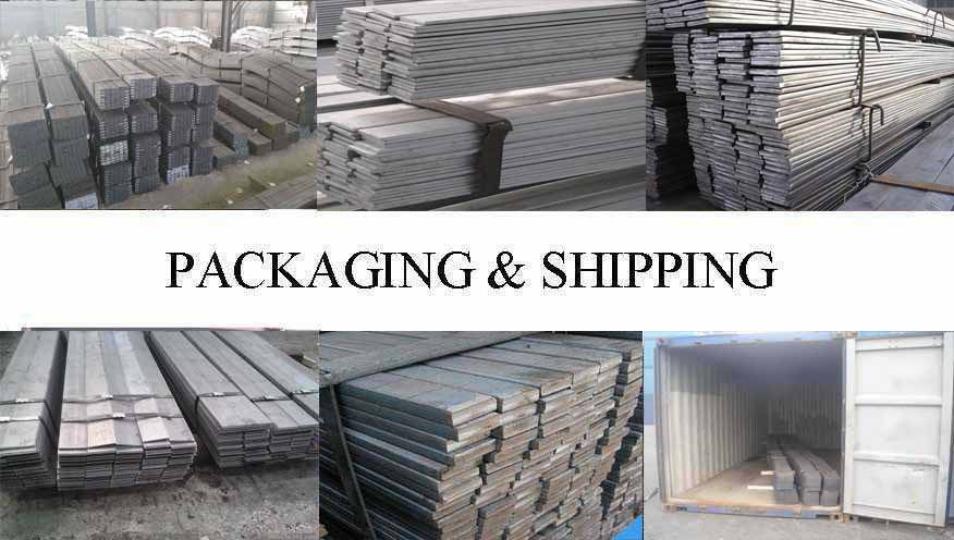 Packaging & Shipping of Flat bar manufacturer in Brunei