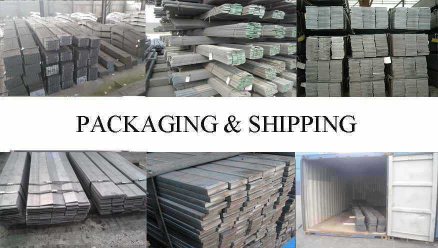 Packaging & Shipping of Flat bar manufacturer in Myanmar