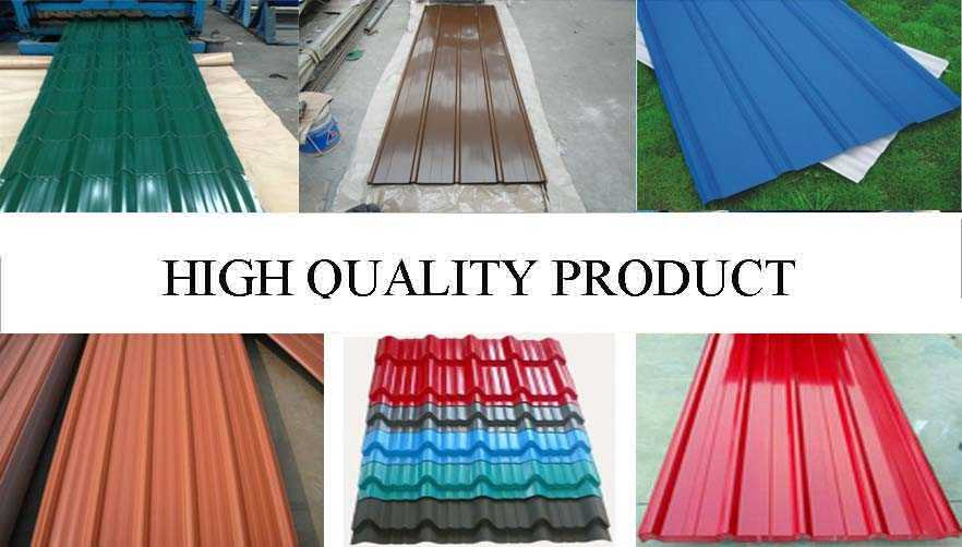 High quality product of cheap price  roof sheeting supplier from  china