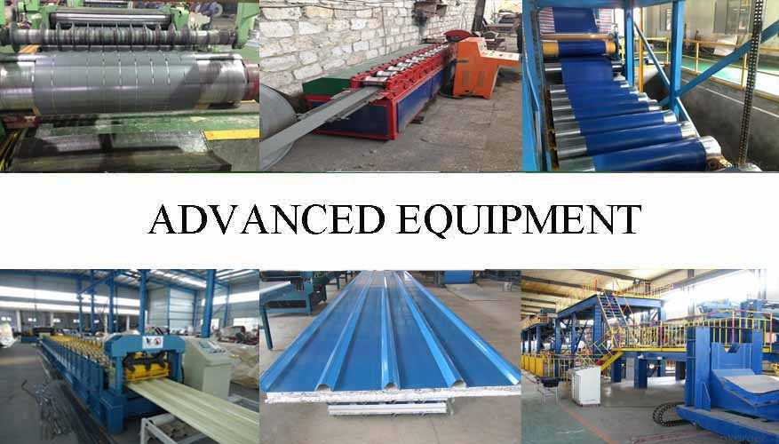 Equipment of Wide range corrugated roofing sheet supplier with good quality