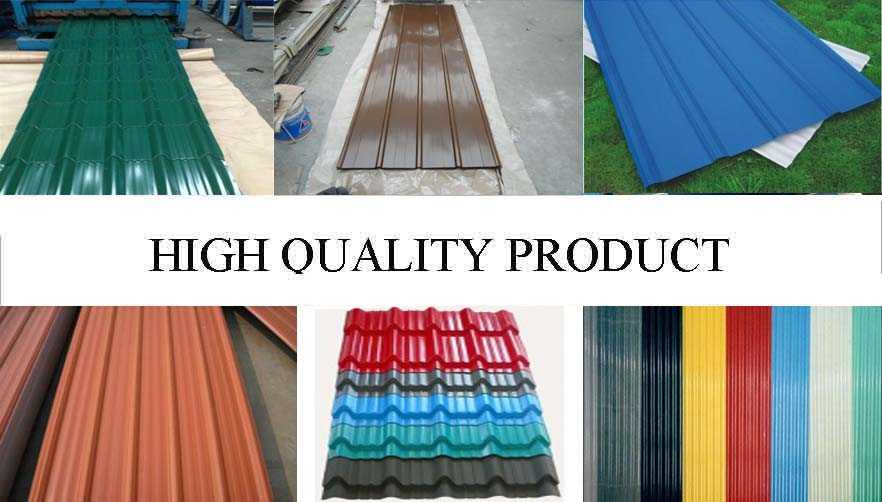 High quality product of Wide range corrugated roofing sheet supplier with reasonable price