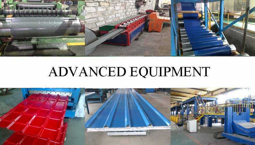 Equipment of Wide range corrugated roofing sheet supplier with reasonable price