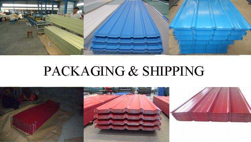 Packaging & Shipping of Wide range corrugated roofing sheet supplier with reasonable price
