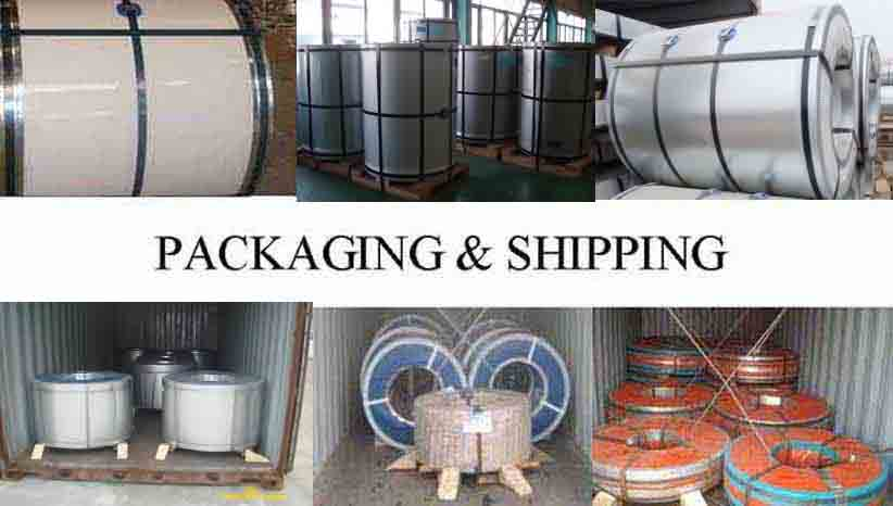 Packaging And Shipping Of High quality  cold rolled galvanized steel coil