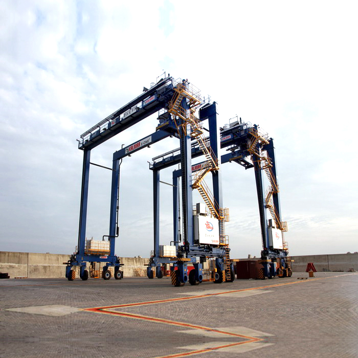 Factory Directly Supplied RTG 200t port crane made in China