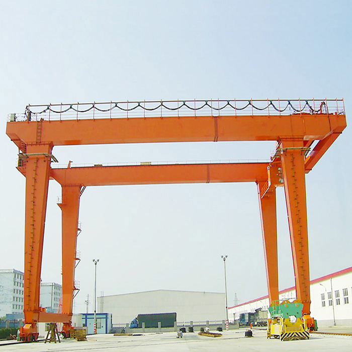 box girder traveling gantry crane with electric trolley