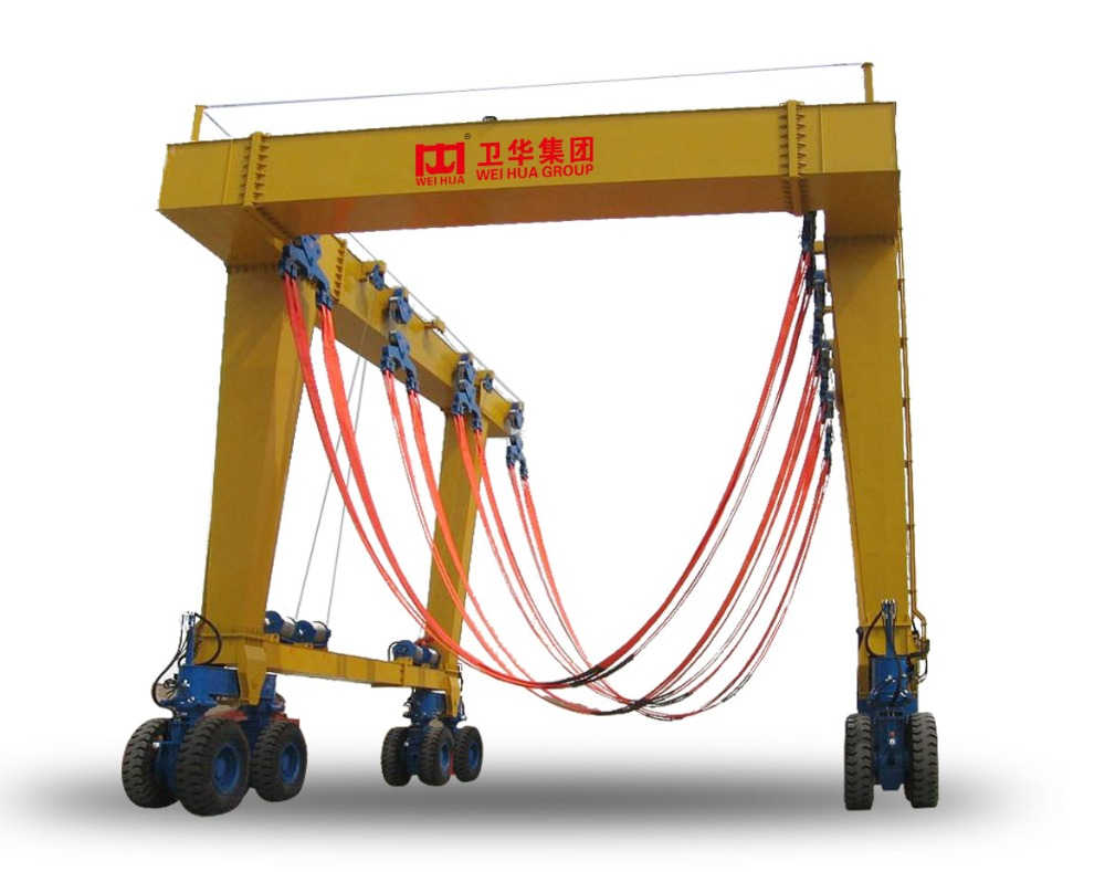 160 Ton Travel Yacht Lift Boat gantry Crane machine Price