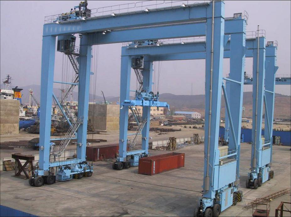China Sale gantry craen 100 ton with CE certificate