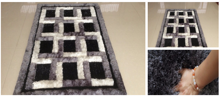 E:B2Bu5730毯Tianjin Hongxuan Carpetmodern design microfiber black and white carpet.png