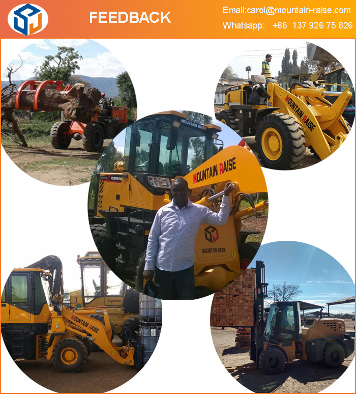 5 ton wheel loader zl50 with high qualtiy