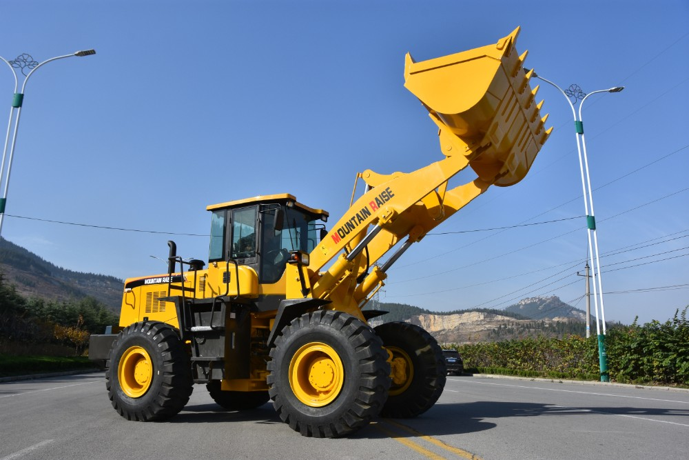 China road/ construction machine 5 ton front end wheel loader price