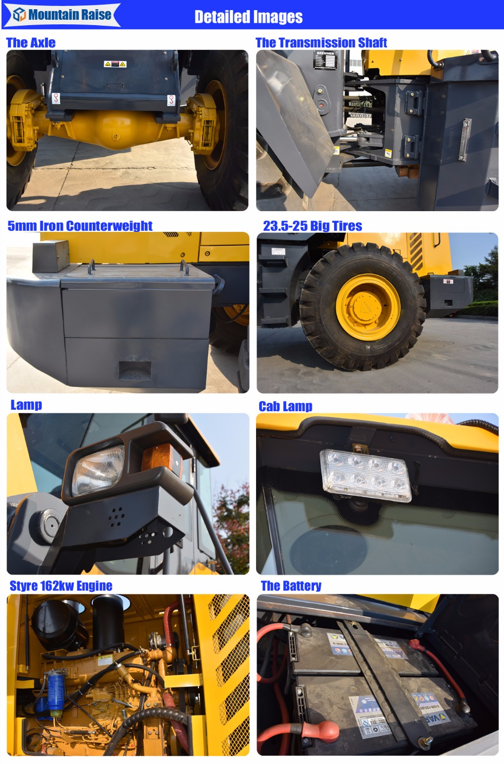 Loading Equipment 956 Chinese Front End Wheel Loader with Competitive Prices