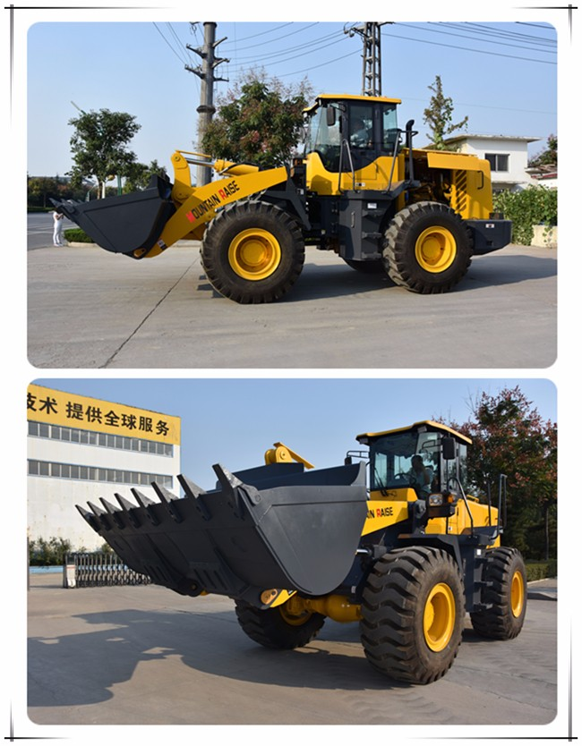 Farm machinery equipment 5 ton wheel loader for sale with 23.5-25 tires