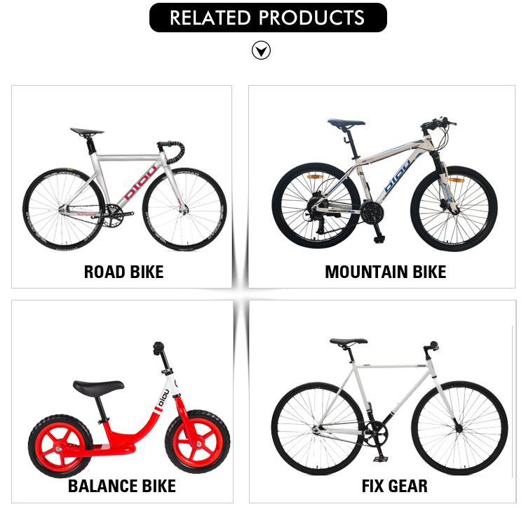 Professional factory sale pink fixed gear bike