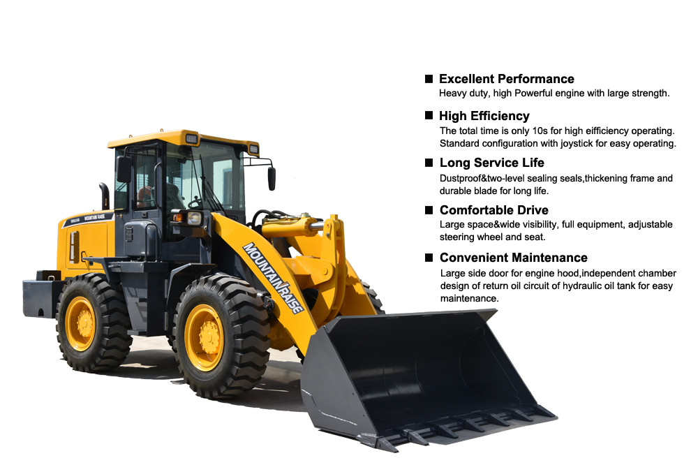Mountain Raise Manufacturer 636 zl30 Wheel Loader