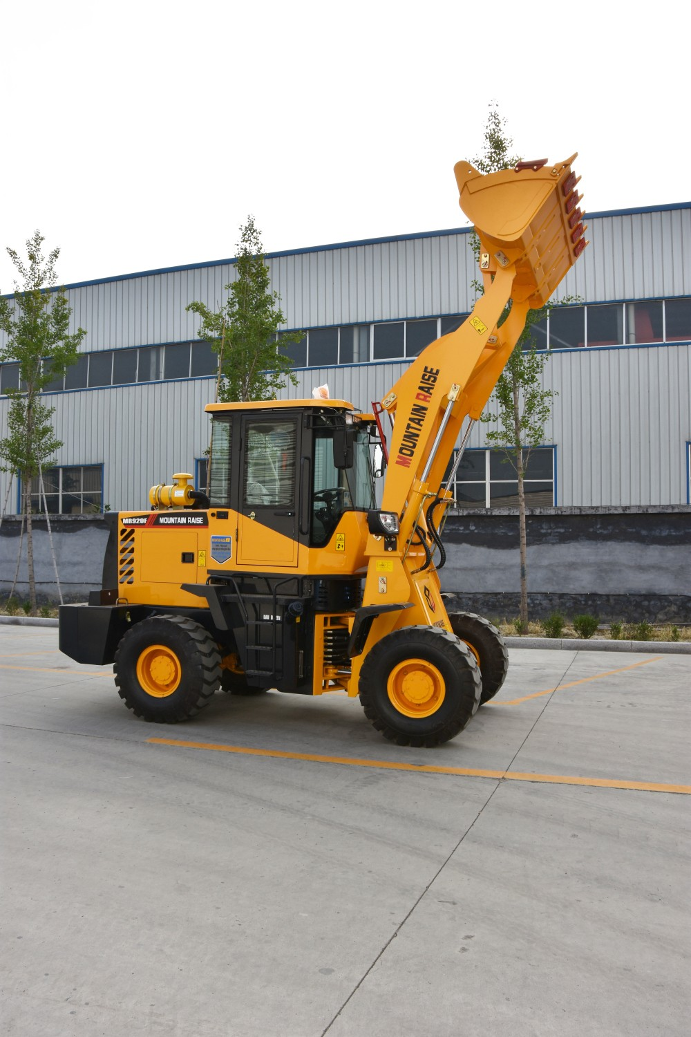 High Quality nice desgin 1.5ton 920F wheel mini front loader