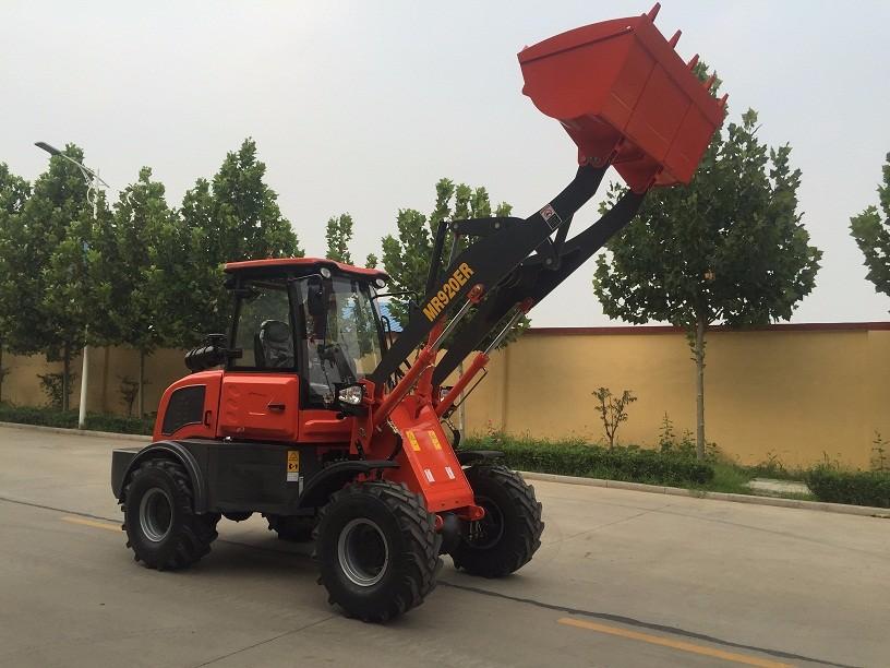 European style mini wheel loader 1.5 ton mini loader with CE/ISO