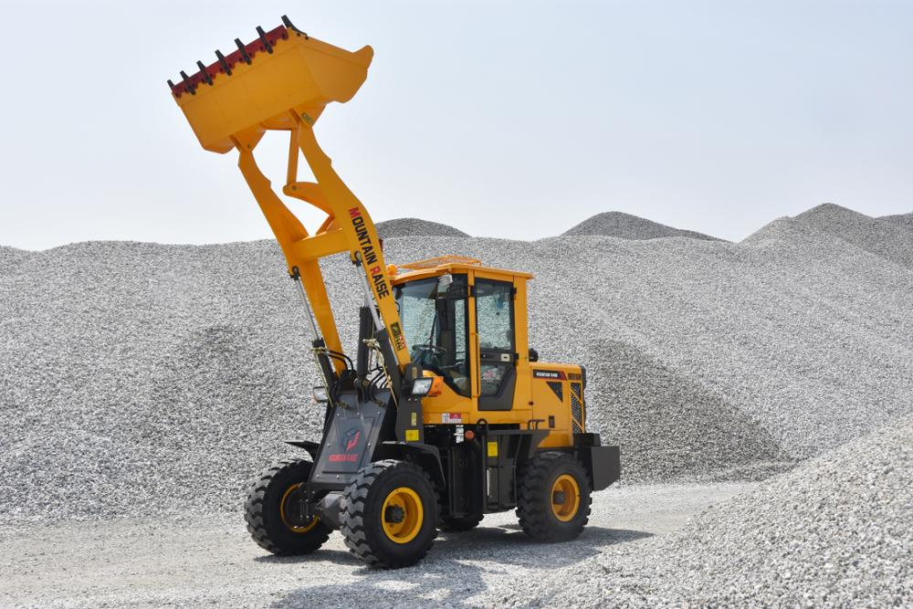 China cheap price wheel loader 1.5 Ton mini wheel loader for sale
