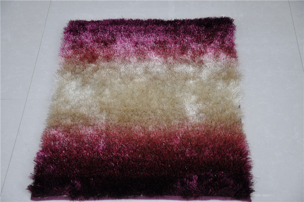 Modern Design Pattern Polyester Shaggy Reading Room Carpet