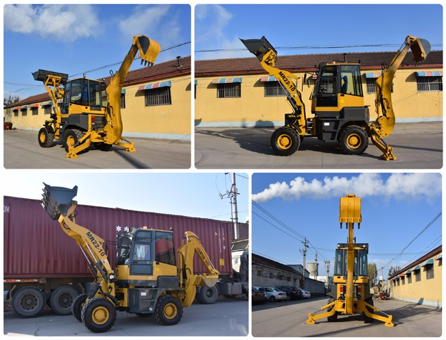 CE China mini backhoe MR22-10 small backhoe loader for farm
