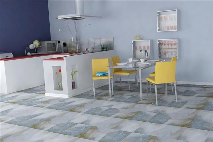 Factory price glazed rustic zibo hotel flooring tiles in India