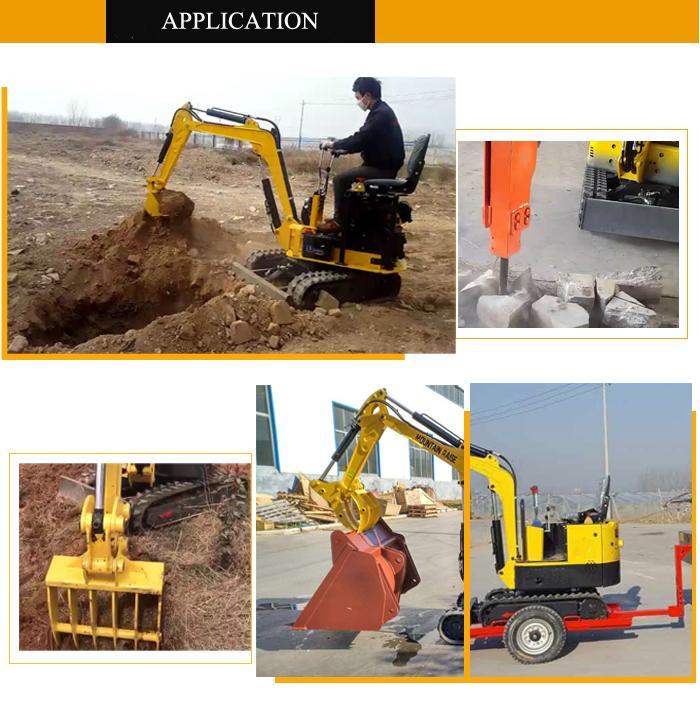 Farm Construction Popular MR08 Mini Excavator With CE Certification