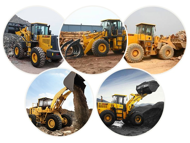 Earth moving machine bucket loader