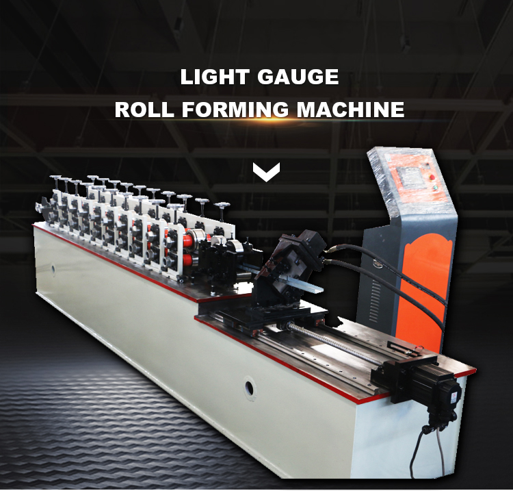 Light Gauge Steel Framing Machine C Purlin Roll Forming