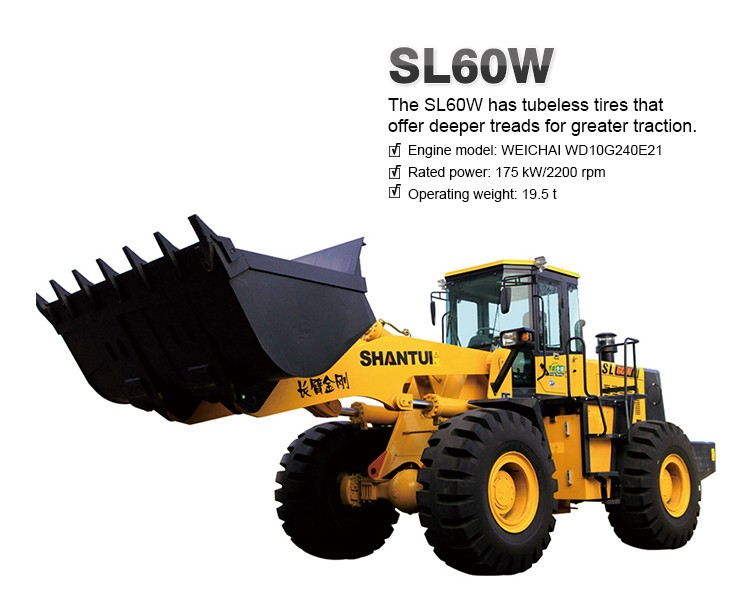 Chinese supply 6 ton cheap wheel loader