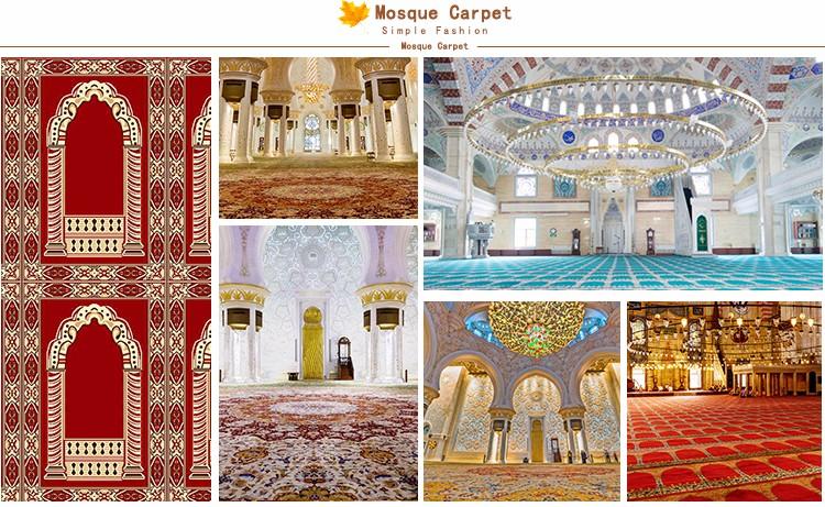 Sell Well Beautiful Design New Type Woolen Hotel Ball Room Carpet