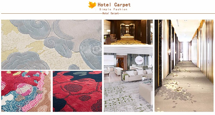 2017 top sale 5 star hotel carpet