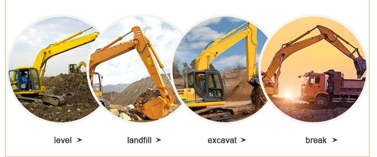 Best performance SE220 rc excavator