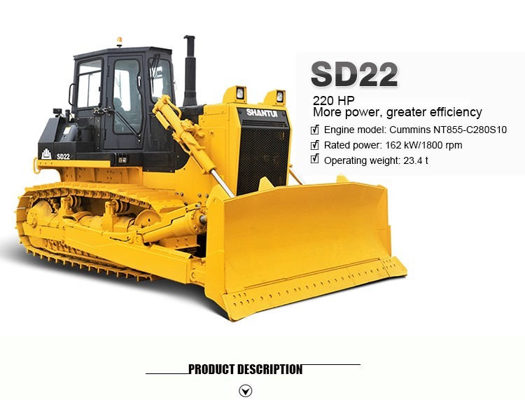 SD22 220HP crawler type r c bulldozer