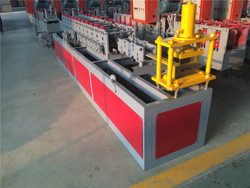 Aluminum Shutter Door Panel Making Machine, Shutter Slats Roll Forming Machine