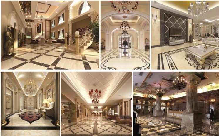Customized Ceramic Floor Tile Glazed Ceramic Tiles from Linyi Shandong
