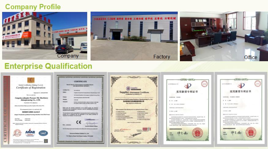 High Speed Rolling Shutter Door Forming Machine in Hebei China