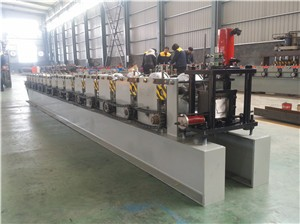 roller shutter slabs roll forming machine with hydraulic cutting