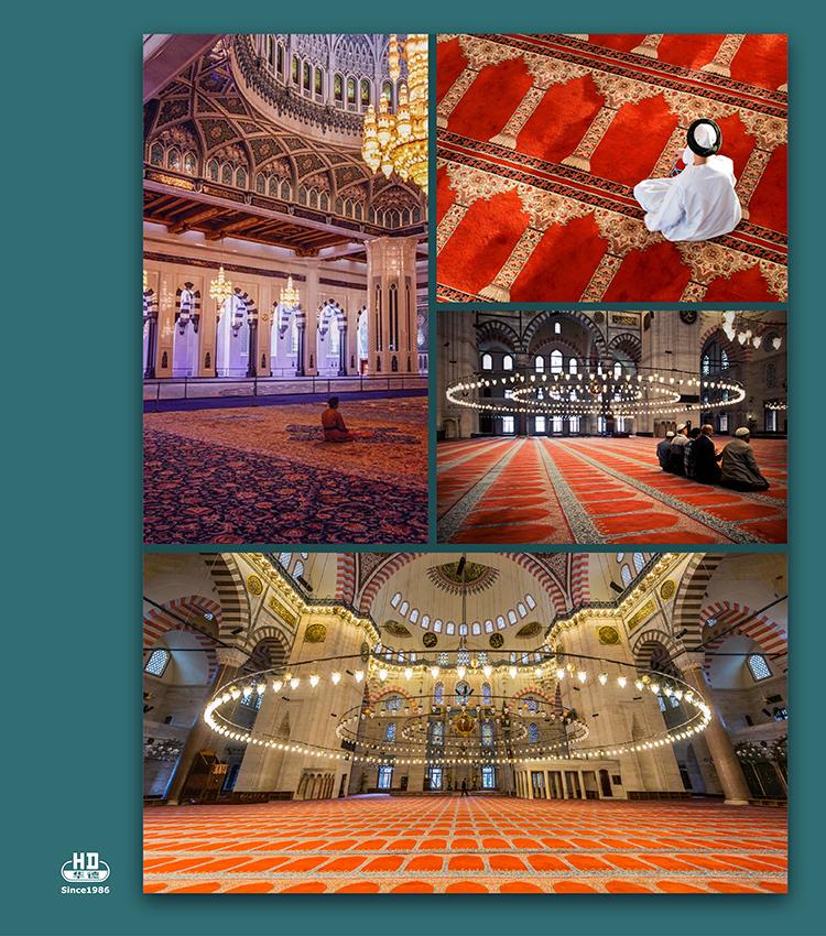 Fireproof gaziantep turkish carpet