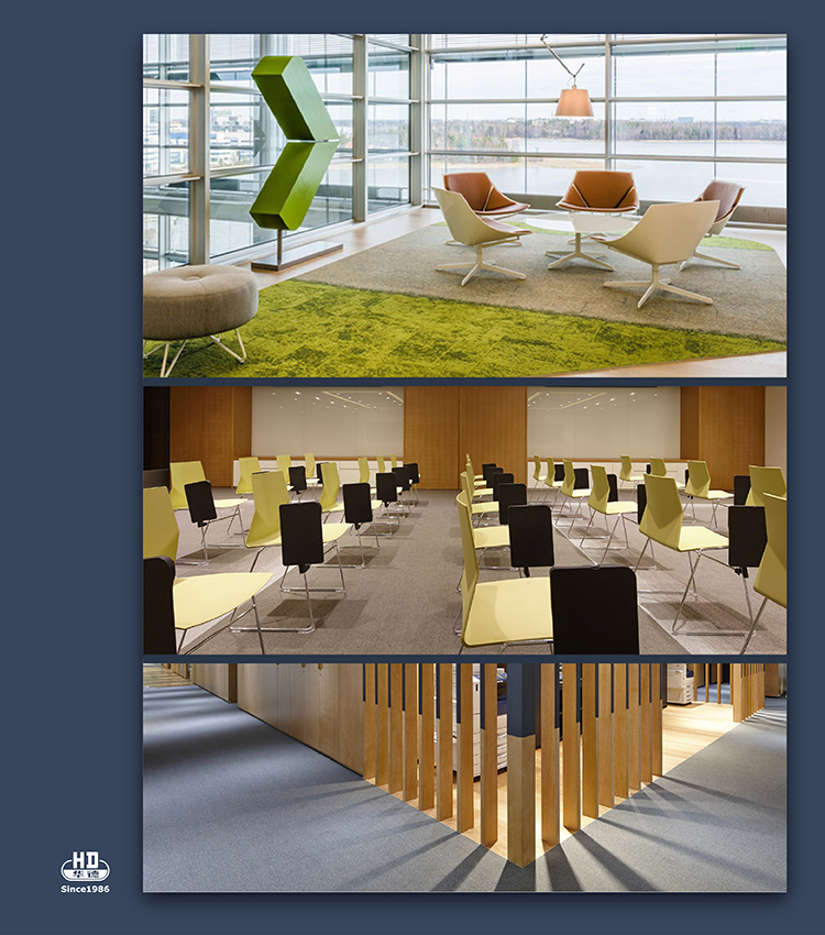 Free Sample Customized Office Carpet Commercial Hotel Carpet Customer-made Carpet