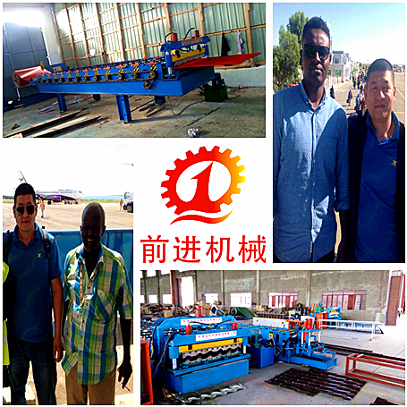 Galvanized Steel Roller Shutter Doors Auto Roll Forming Machine For Sale