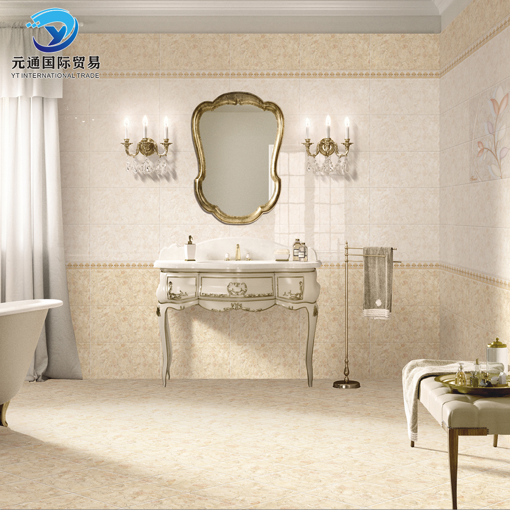 90*600mm Porcelain Ceramic Wall Glazed Tile Bath Tile