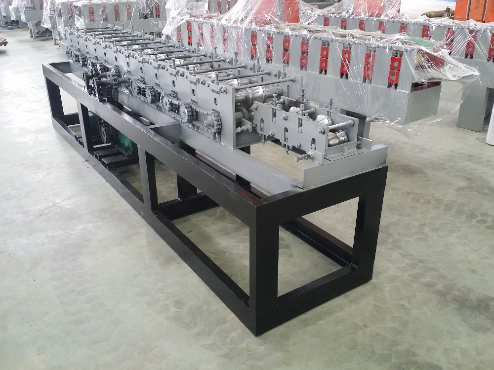 China Alibaba Shop Front Roller Shutter Door Forming Machine