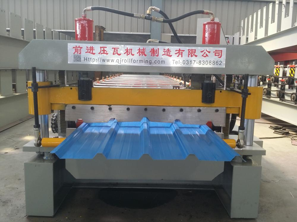 Cheap Portable Roof Panel Roll Forming Machine Steel Plate