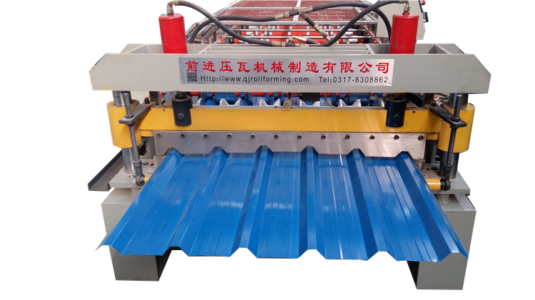 New trapezoidal metal roofing wall panel tile sheet roll making forming machine