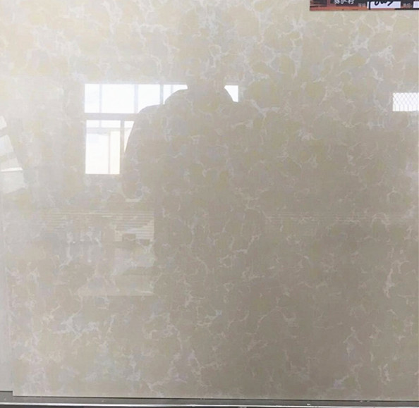 Double Loading First Choice White Yellow Crystal Floor Tiles Pulati Ceramic Tiles