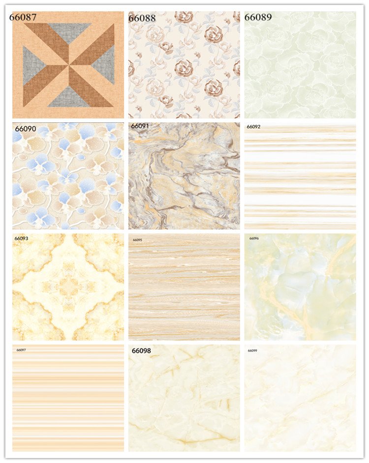 Flower Ceramic Floor Tile 80x80/60x60 Floor Tiles Factory in Linyi City