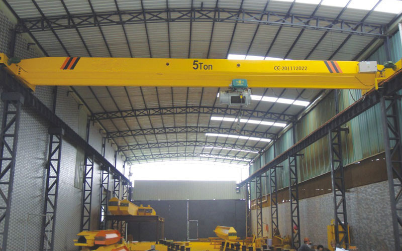 2018 China Top Crane Single Girder Overhead With Electric Hoist